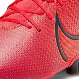 Buty piłkarskie Nike Mercurial Superfly 7 Academy FG/MG AT7946 606 czerwone granatowe 5