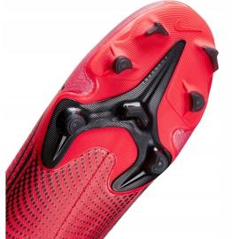 Buty piłkarskie Nike Mercurial Superfly 7 Academy FG/MG AT7946 606 czerwone granatowe 7