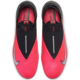 Buty piłkarskie Nike Phantom Vsn 2 Elite Df Fg CD4161 606 czerwone wielokolorowe 2