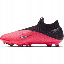 Buty piłkarskie Nike Phantom Vsn 2 Elite Df Fg CD4161 606 czerwone wielokolorowe 3