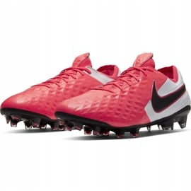 Buty piłkarskie Nike Tiempo Legend 8 Elite Fg AT5293 606 czerwone wielokolorowe 3