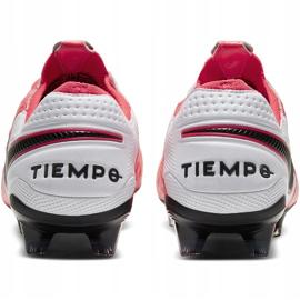 Buty piłkarskie Nike Tiempo Legend 8 Elite Fg AT5293 606 czerwone wielokolorowe 4