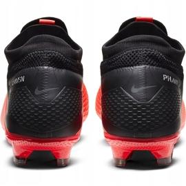 Buty piłkarskie Nike Phantom Vsn 2 Pro Df Fg CD4162 606 czerwone czerwony,czarny 4