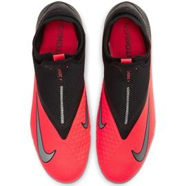 Buty piłkarskie Nike Phantom Vsn 2 Pro Df Fg CD4162 606 czerwone czerwony,czarny 1