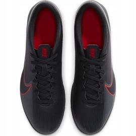 Buty piłkarskie Nike Mercurial Vapor 13 Club Tf AT7999 060 czarne czarne 1