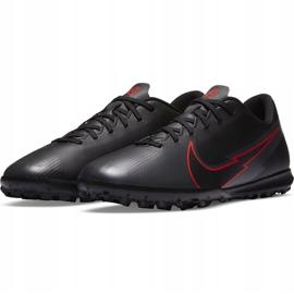 Buty piłkarskie Nike Mercurial Vapor 13 Club Tf AT7999 060 czarne czarne 3