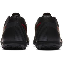 Buty piłkarskie Nike Mercurial Vapor 13 Club Tf AT7999 060 czarne czarne 4