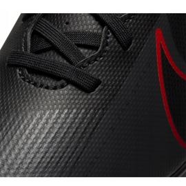 Buty piłkarskie Nike Mercurial Vapor 13 Club FG/MG AT7968 060 czarne czarne 7