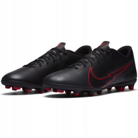 Buty piłkarskie Nike Mercurial Vapor 13 Club FG/MG AT7968 060 czarne czarne 4