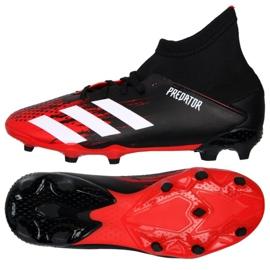 Buty piłkarskie adidas Predator 20.3 Fg Jr EF1930 czerwone 4