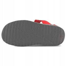 Sandały dla dzieci Puma Divecat v2 Injex Ps szaro-czerwone 369546 05 szare 5