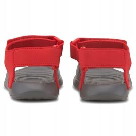 Sandały dla dzieci Puma Divecat v2 Injex Ps szaro-czerwone 369546 05 szare 4