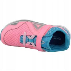 Buty Reebok Fusion Runner Kids BD2320 niebieskie różowe srebrny 2
