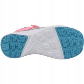 Buty Reebok Fusion Runner Kids BD2320 niebieskie różowe srebrny 3