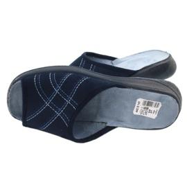 Befado obuwie damskie pu 442D147 niebieskie 5