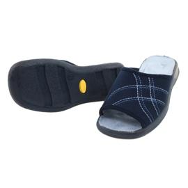 Befado obuwie damskie pu 442D147 niebieskie 4