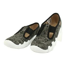 Befado obuwie dziecięce 290X220 szare 3