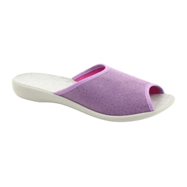 Befado obuwie damskie pu 254D116 fioletowe 1