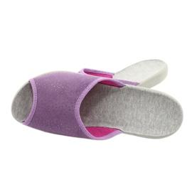 Befado obuwie damskie pu 254D116 fioletowe 5