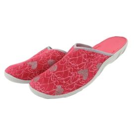 Befado obuwie damskie 235D160 czerwone 4