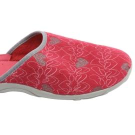 Befado obuwie damskie 235D160 czerwone 6