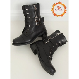 Workery damskie czarne 88075 Black 1