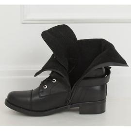 Workery damskie czarne 88075 Black 3