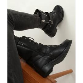 Workery damskie czarne 88075 Black 4