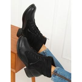 Botki militarne czarne 88039 Black 3