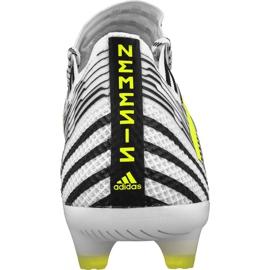 Buty piłkarskie adidas Nemeziz 17.1 Fg M BB6075 białe wielokolorowe 2