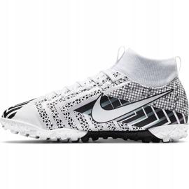 Buty piłkarskie Nike Mercurial Superfly 7 Academy Mds Tf Junior BQ5407 110 białe 2