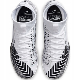 Buty piłkarskie Nike Mercurial Superfly 7 Academy Mds Tf Junior BQ5407 110 białe 1