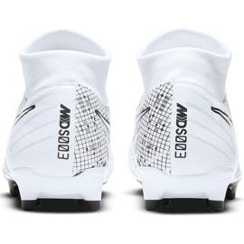 Buty piłkarskie Nike Mercurial Superfly 7 Academy Mds FG/MG BQ5427 110 białe białe 4