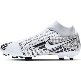 Buty piłkarskie Nike Mercurial Superfly 7 Academy Mds FG/MG BQ5427 110 białe białe 2