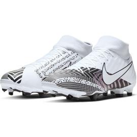 Buty piłkarskie Nike Mercurial Superfly 7 Academy Mds FG/MG BQ5427 110 białe białe 3