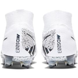 Buty piłkarskie Nike Mercurial Superfly 7 Elite Mds Fg BQ5469 110 białe białe 5