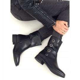 Botki damskie czarne 6266 Black 3
