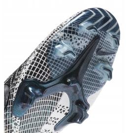 Buty piłkarskie Nike Vapor 13 Elite Mds Fg M CJ1295-110 granatowy, biały, szary/srebrny białe 1