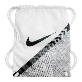 Buty piłkarskie Nike Vapor 13 Elite Mds Fg M CJ1295-110 granatowy, biały, szary/srebrny białe 2