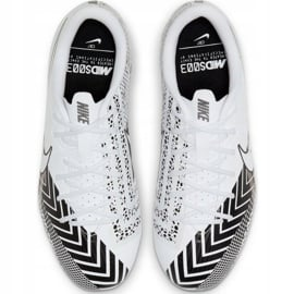 Buty piłkarskie Nike Mercurial Vapor 13 Academy Mds FG/MG Jr CJ0980-110 wielokolorowe białe 1