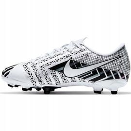 Buty piłkarskie Nike Mercurial Vapor 13 Academy Mds FG/MG Jr CJ0980-110 wielokolorowe białe 2