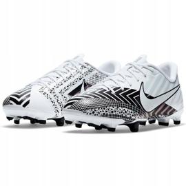 Buty piłkarskie Nike Mercurial Vapor 13 Academy Mds FG/MG Jr CJ0980-110 wielokolorowe białe 3