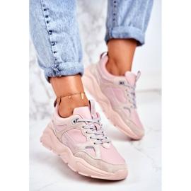 Buty Big Star Shoes W GG274655 różowe 1