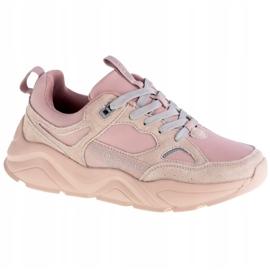 Buty sportowe Hell Rosa Big Star GG274655 beżowy różowe szare 7