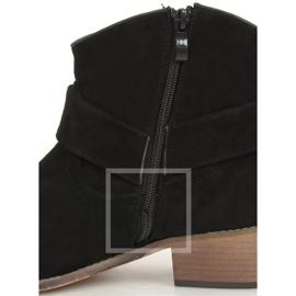 Botki damskie czarne E2251 Black Ii Gatunek 1