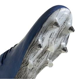 Buty piłkarskie adidas X 19.1 Sg niebieskie EG7144 5