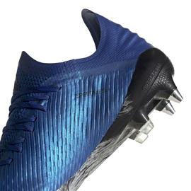 Buty piłkarskie adidas X 19.1 Sg niebieskie EG7144 4