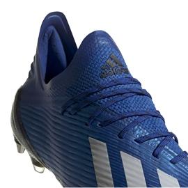 Buty piłkarskie adidas X 19.1 Sg niebieskie EG7144 3