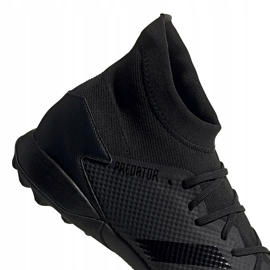 Buty piłkarskie adidas Predator 20.3 Tf czarne EE9577 4