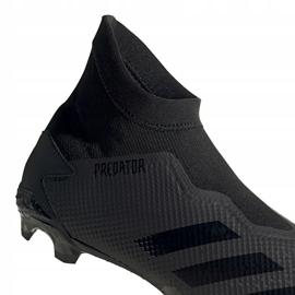 Buty piłkarskie adidas Predator 20.3 Ll Fg czarne EF1645 3